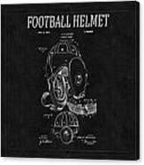 Football Helmet Patent 4 Canvas Print