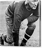 Football Player Jim Thorpe Canvas Print