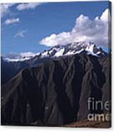 Foothill Of The Andes Canvas Print