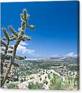 foothills of the Sangre De Christo Mountains Canvas Print
