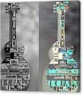 For American Guitars  Canvas Print