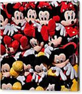 For The Mickey Mouse Lovers Canvas Print