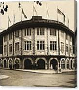 Forbes Field Pittsburgh 1909 Canvas Print