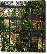 Forbidden Garden Canvas Print