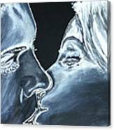 Forbidden Kiss Canvas Print