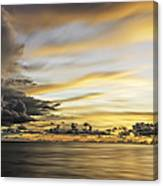 Forbidding Clouds Canvas Print