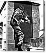 Forced Entry Derry Mural Canvas Print
