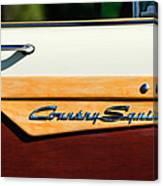 Ford Country Sedan Emblem Canvas Print