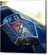 Ford Crest Canvas Print