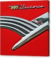 Ford Crown Victoria Emblem Canvas Print