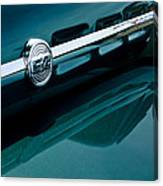 Ford F-2 Pickup Truck Side Emblem Canvas Print