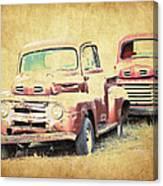 Ford F1 Canvas Print