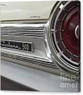 Ford Fairlane 500 Emblem Canvas Print