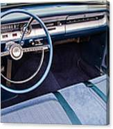 Ford Falcon Futura Interior Canvas Print