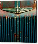 Ford Grille Canvas Print