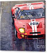 Ford Gt 40 24 Le Mans  Canvas Print
