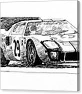 Ford Gt - 40 Canvas Print