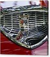Ford Hood Emblem Canvas Print