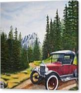 Ford Model T Canvas Print