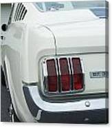 Ford Mustang Gt 350 Canvas Print