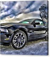 Ford Mustang - Featured In Vehicle Eenthusiast Group Canvas Print