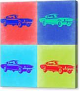 Ford Mustang Pop Art 2 Canvas Print