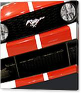 Ford Mustang - This Pony Is Always In Style Canvas Print