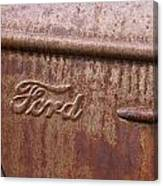 Ford Name Plate Canvas Print