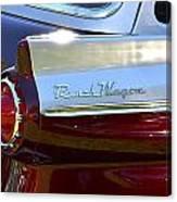Ford Ranch Wagon Canvas Print