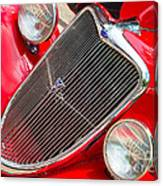 Ford Roadster V8 Canvas Print