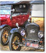Ford-t  Mobiles Of The 20th Canvas Print