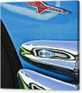 Ford Thunderbird Emblem -0505c Canvas Print