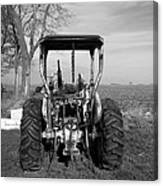 Ford Tractor Rear View Canvas Print