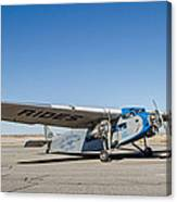 Ford Tri-motor Taxiing Canvas Print