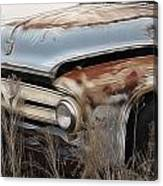 Ford Truck Old F350 Canvas Print
