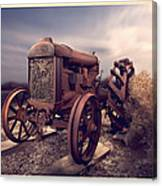 Fordson F Tractor Canvas Print