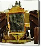 Fordson Tractor Plentywood Montana Canvas Print