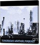 Forecast Canvas Print