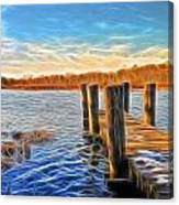 Forelorn Summer Canvas Print
