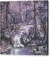 Forest In Lavender Canvas Print