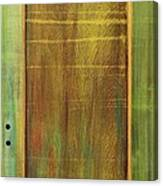 Forest Painted Door Canvas Print