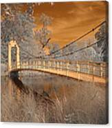 Forest Park Bridge Infrared Canvas Print
