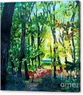 Forest Scene 1 Canvas Print