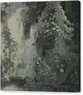 Forest Shore Canvas Print