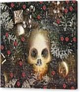 Forest Skull Pop Art Canvas Print
