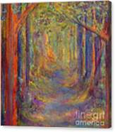 Forest Tunnel Canvas Print