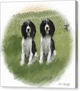 Forever Pals Canvas Print