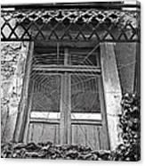 Forgotten Balcony Canvas Print