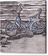 Forgotten Banana Seat Bike Canvas Print