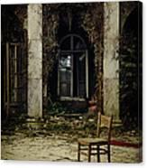 Forgotten Courtyard Canvas Print